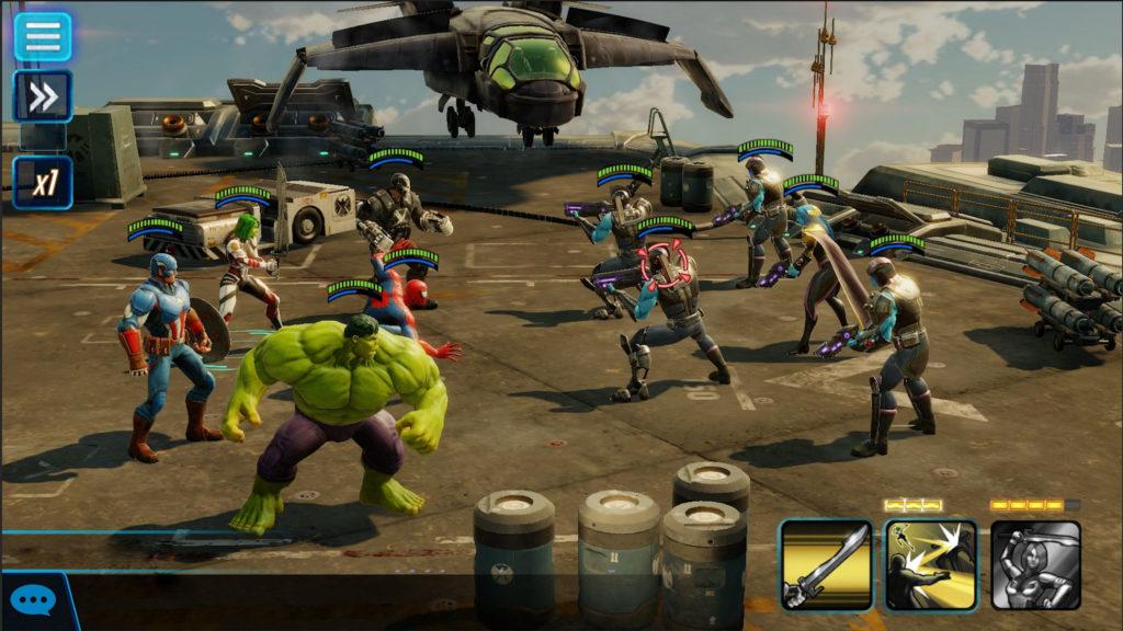 دانلود MARVEL Strike Force 3.9.0 - بازی نقش آفرینی اعتصاب نیروی مارول اندروید + مود