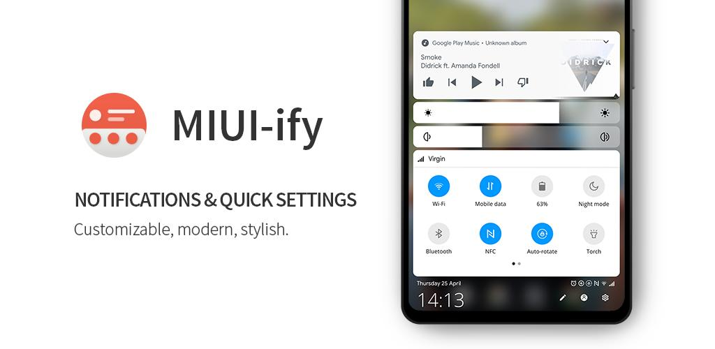 MIUI-ify - Notification Shade Premium