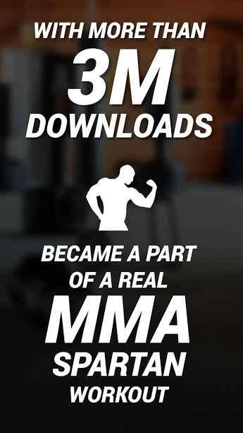 دانلود MMA Spartan System Workouts & Exercises Pro 3.0.11 - مجموعه تمرینات بدنسازی هنر رزمی mma مخصوص اندروید !