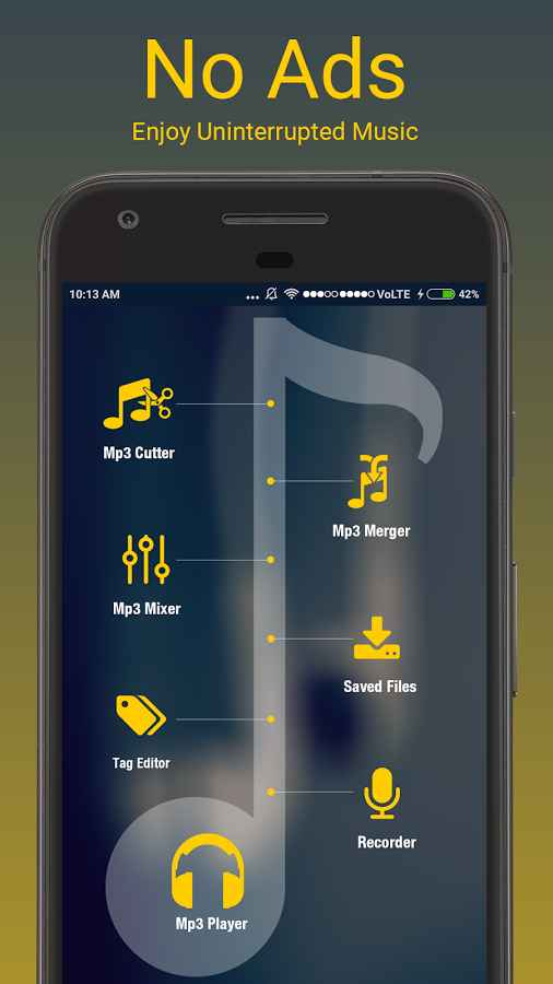 دانلود MP3 All In One Pro 1.0.5 - مجموعه ابزار ویرایش موزیک اندروید !