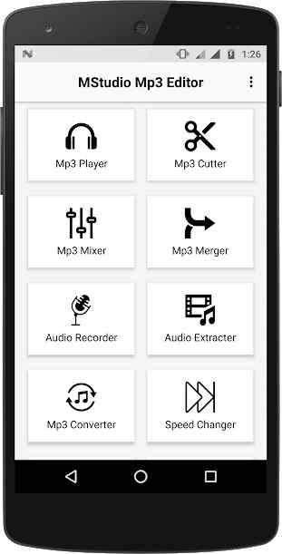 دانلود MStudio Mp3 Editor 2.0.32 - مجموعه ابزار پیشرفته و سرگرم کننده ویرایش صدا اندروید !