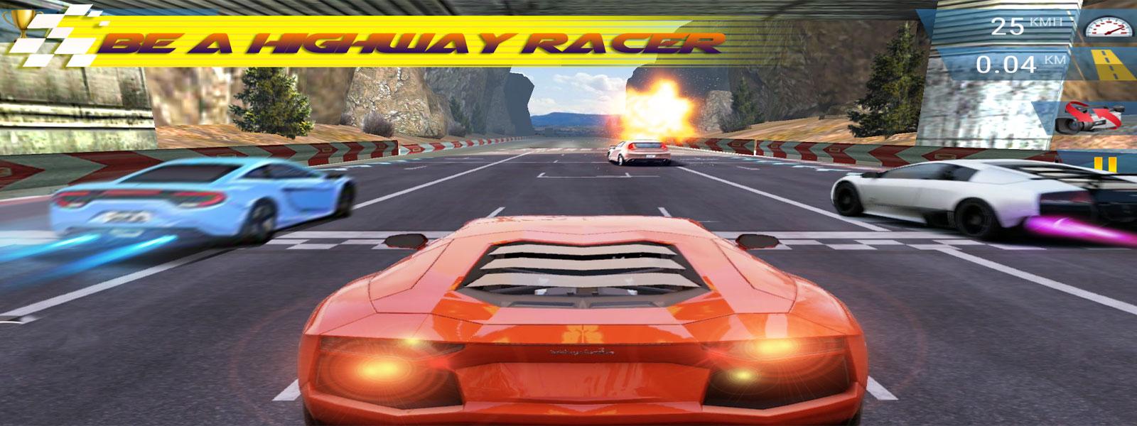 Mad 3D:Highway Racing