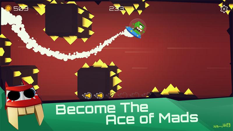 دانلود Mad Aces 1.2.2 - بازی هیجان آور خلبان های دیوانه اندروید + مود