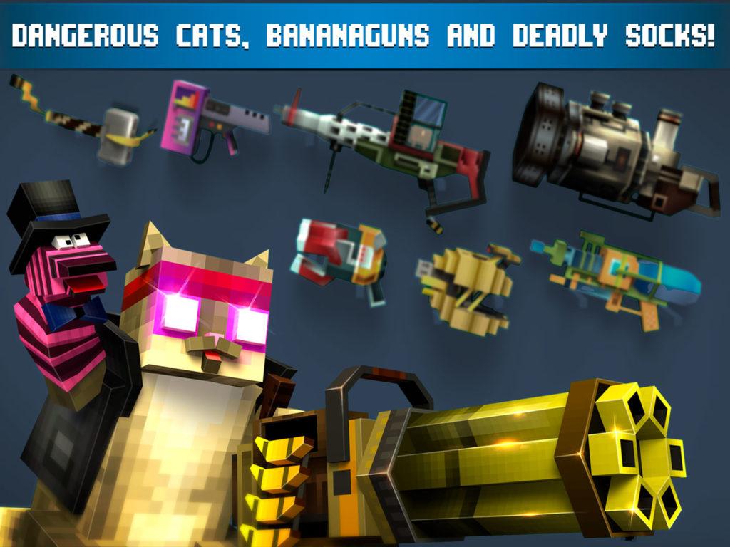 دانلود Mad GunZ - Battle Royale, online, shooting games 1.9.18 - بازی اکشن - تیراندازی هیجان انگیز