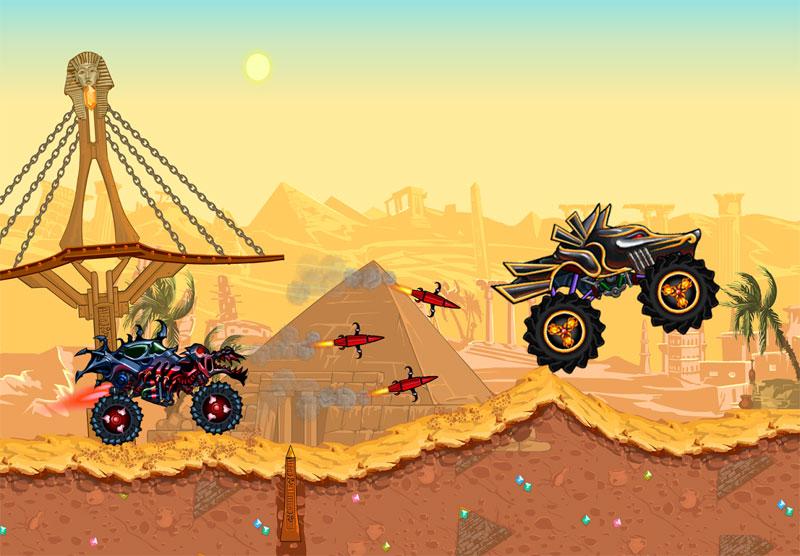 دانلود Mad Truck - Hill Climb Racing 4.3 - بازی مسابقه کامیون ها اندروید + مود
