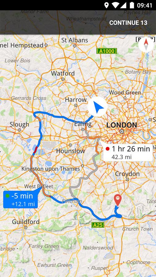 دانلود Magic Earth Navigation & Maps 7.1.18.45.FE1FDBAD.731ACEEB - مسیریاب آفلاین اندروید + دیتابیس + نقشه ایران + سخنگو فارسی