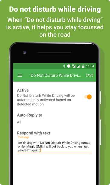 دانلود Magic SMS Pro - Smart Auto Reply and Scheduled SMS 1.1.2 - برنامه پاسخ خودکار به پیام کوتاه مخصوص اندروید !