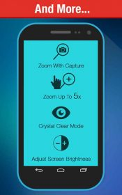 Magnifying Glass + Flashlight Premium