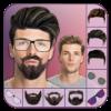 Man Face Editor: Hair Style, Beard, Mustache