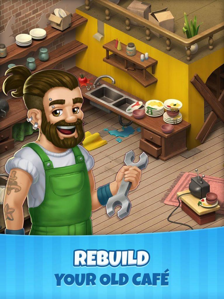 دانلود Manor Cafe 1.0.1 - بازی پازل و تطبیق ساز دوست داشتنی