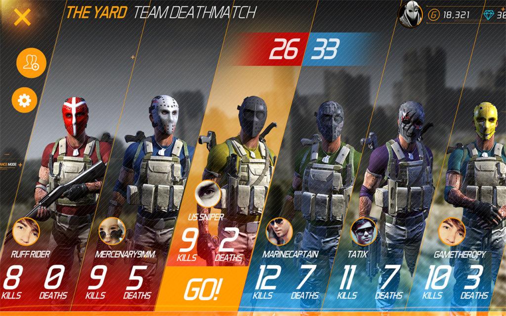 دانلود MaskGun - Multiplayer FPS 2.391 - بازی تفنگی چند نفره اندروید + مود