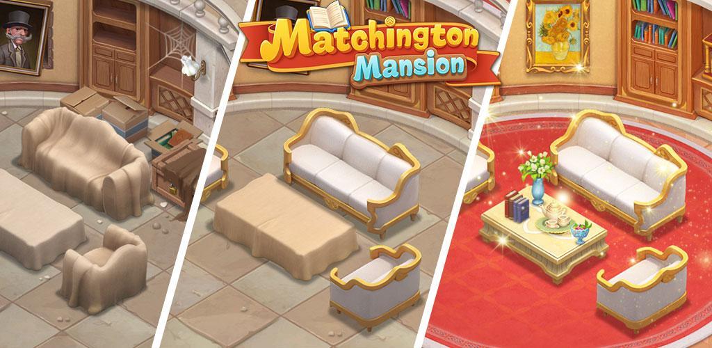 Matchington Mansion Match-3 Home Decor Adventure