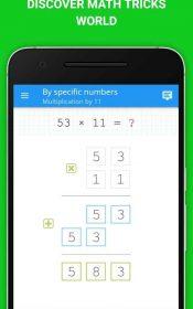 Math: mental math games, multiplication table