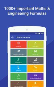 Maths Formulas with Calculator