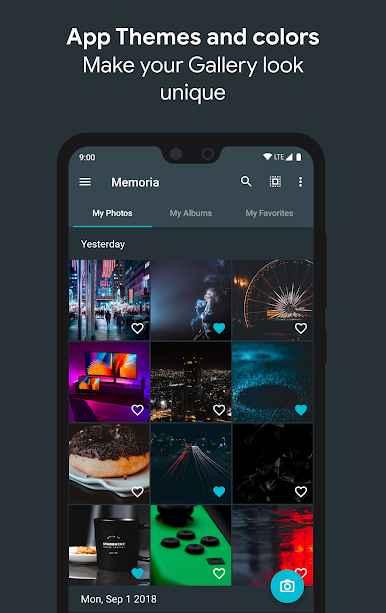 دانلود Memoria - Photo Gallery Full 1.0.1.6 - گالری مدیریت حرفه ای تصاویر اندروید + مود