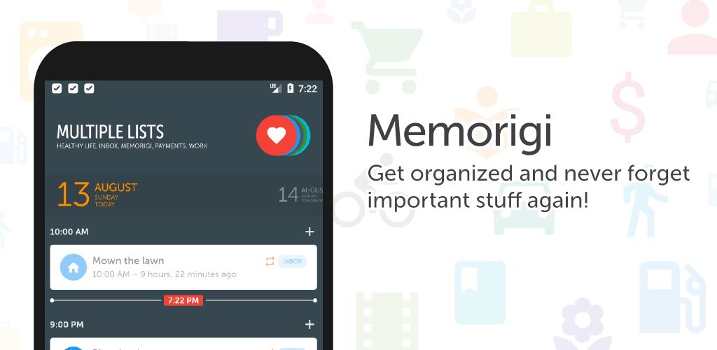 Memorigi: Todo List, Task List Full