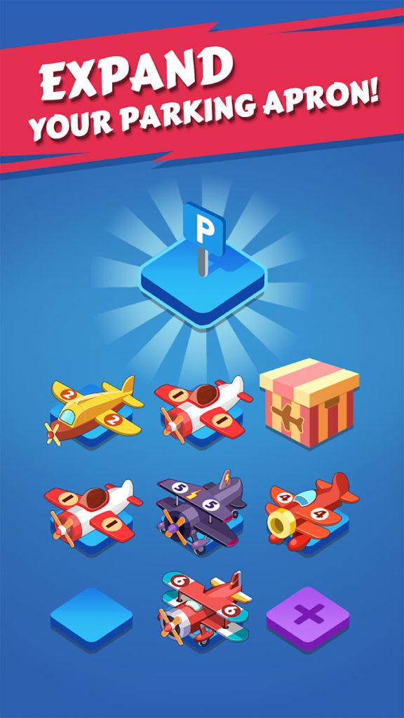 """دانلود Merge Plane - Click & Idle Tycoon 1.13.3 - بازی کلیکی پرطرفدار """"فرمانده اسکادران"""" اندروید + مود"""