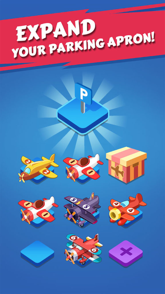 دانلود Merge Plane - Click & Idle Tycoon 1.5.5 - بازی کلیکی پرطرفدار