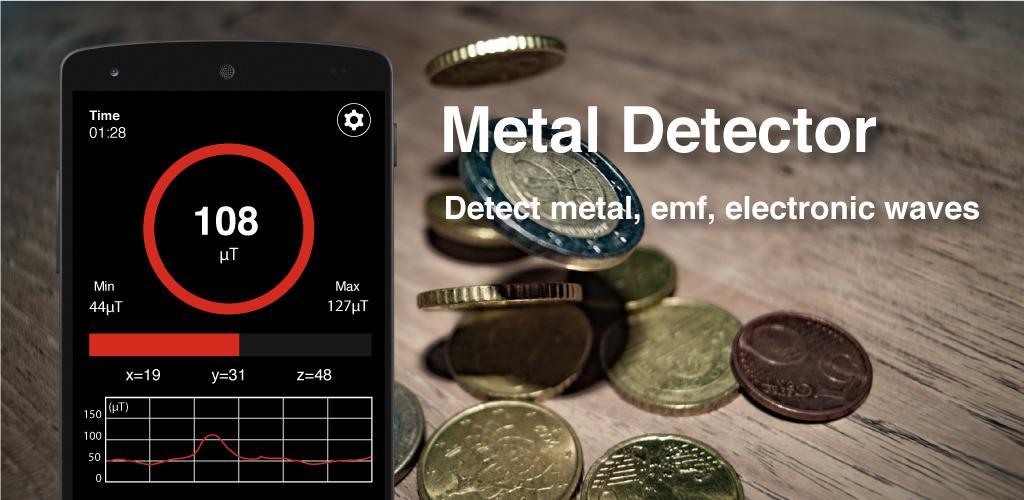 Metal Detector - EMF detector, Body scanner
