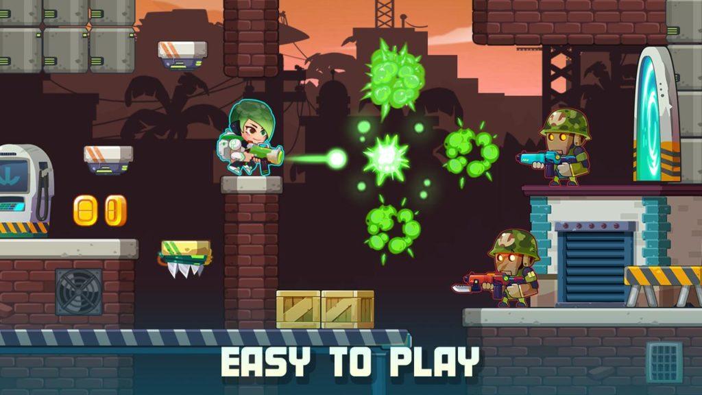 دانلود Metal Shooter: Run and Gun 1.100 - بازی اکشن جالب و محبوب