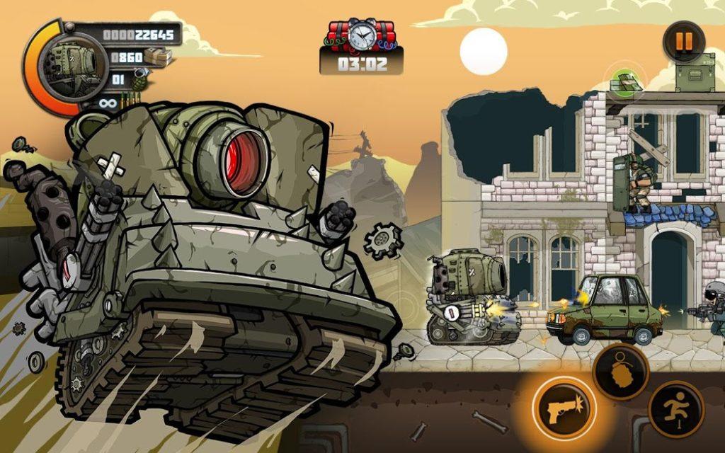 دانلود Metal Soldiers 2 1.11.2 - بازی اکشن