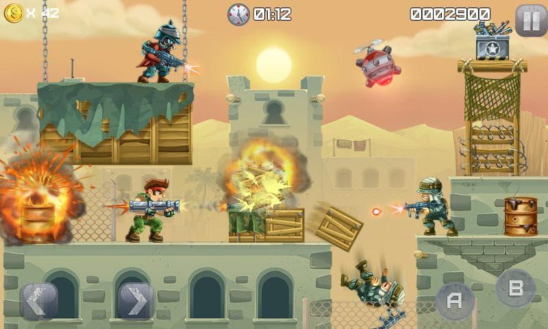 دانلود Metal Soldiers 1.0.12 - بازی اکشن