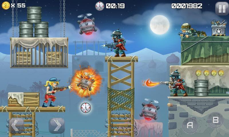 دانلود Metal Soldiers 1.0.14 - بازی اکشن