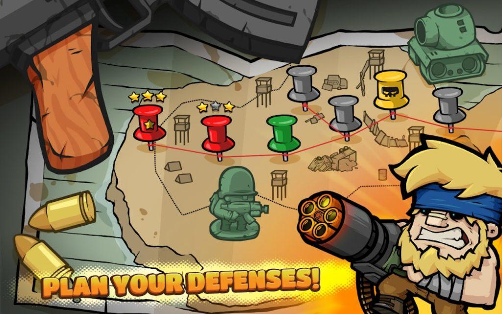 دانلود Metal Soldiers TD 1.9.5 - بازی استراتژیک