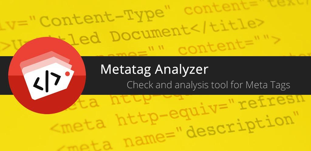 Metatag Analyzer