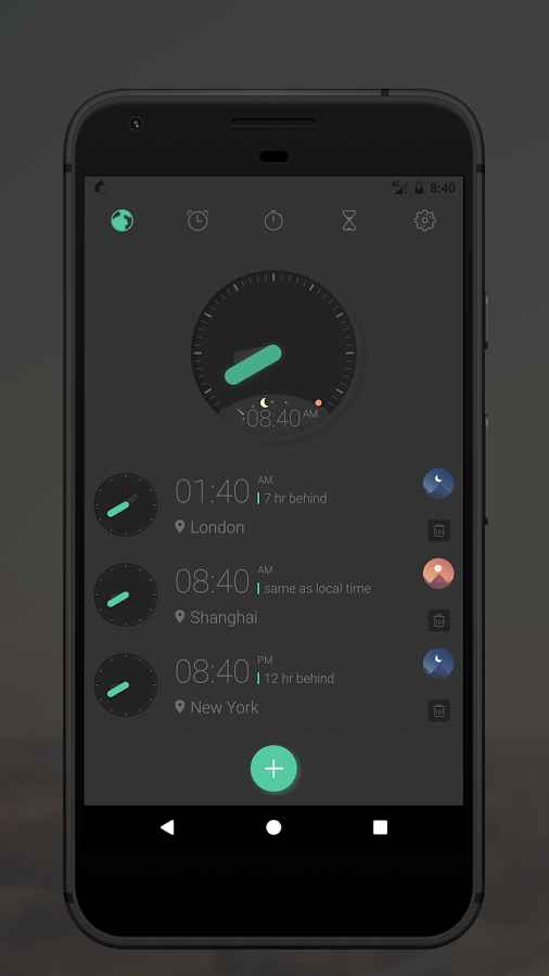 دانلود Miaow Clock 4.1.5 - ساعت بسیار زیبا و پر امکانات