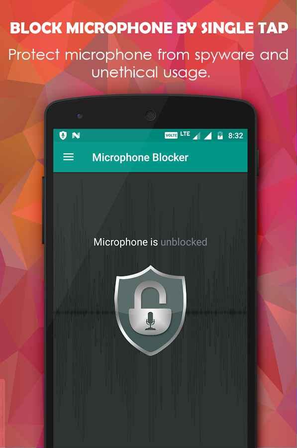 Microphone Blocker PRO - Anti Spy