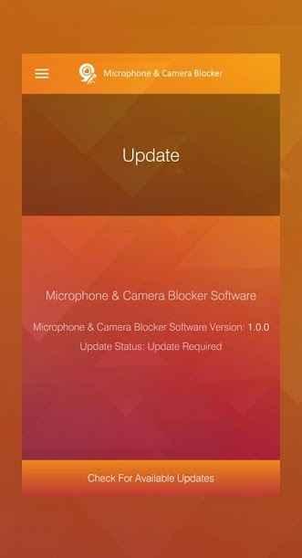 دانلود Microphone & Camera Blocker Premium 1.0.3 - برنامه امنیتی مسدود کننده میکروفون و دوربین اندروید !
