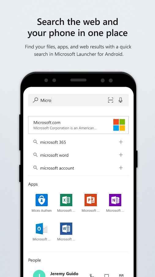 دانلود Microsoft Launcher (Preview) 4.10.0.43525 - لانچر مایکروسافت اندروید + بتا