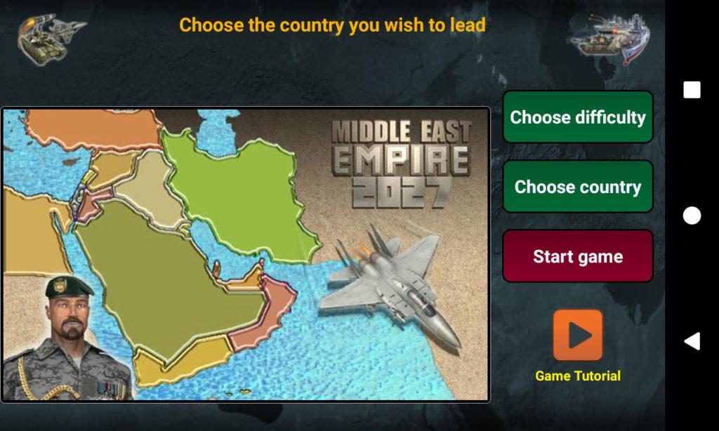 دانلود Middle East Empire 2027 2.8.3 - بازی استراتژیک امپراتوری 2027 خاورمیانه اندروید + مود
