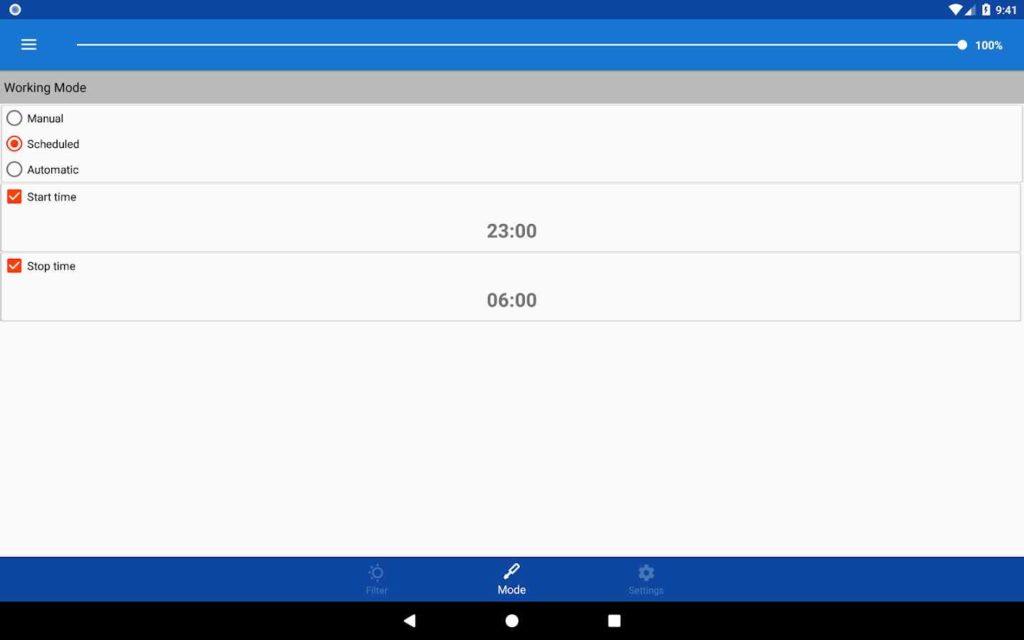 دانلود Midnight (Night Mode) Full 3.1.7 - ابزار حالت شب صفحه نمایش اندروید