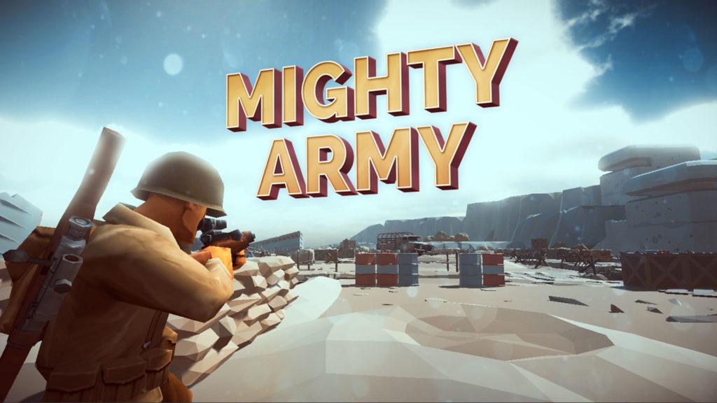 دانلود Mighty Army: World War 2 1.0.9 - بازی اکشن