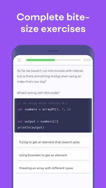 دانلود Mimo: Learn to Code Premium 2.0.3 - اپلیکیشن یادگیری اصولی و کامل برنامه نویسی میمو مخصوص اندروید!