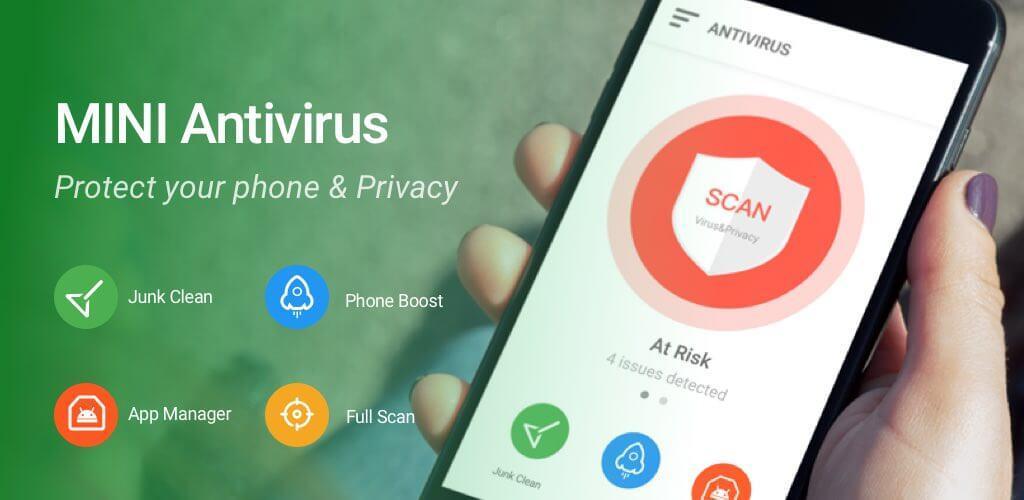 Mini Antivirus Boost & Junk Clean