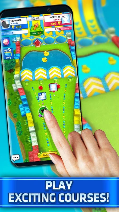 دانلود Mini Golf King Multiplayer Game 3.23.3 - بازی گلف پرطرفدار اندروید + مود