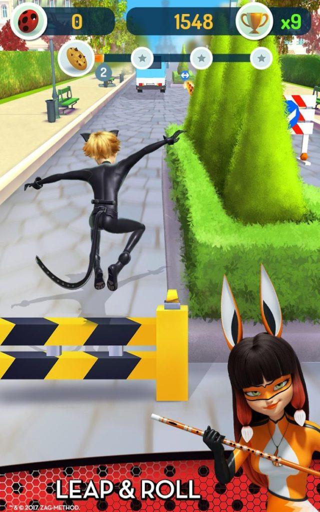 دانلود Miraculous Ladybug & Cat Noir - The Official Game 1.2.02 - بازی دویدنی پرطرفدار