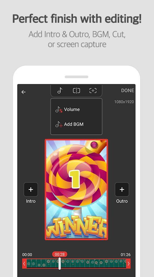 دانلود Mobizen Screen Recorder Full 3.7.1.8 - ضبط فیلم از صفحه اندروید