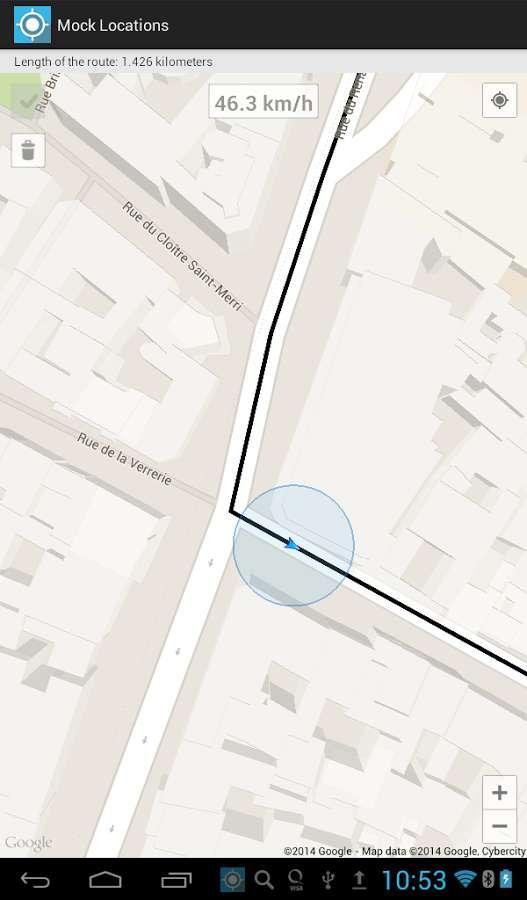 دانلود Mock Locations Full 1.51 - برنامه لوکیشن جعلی اندروید !