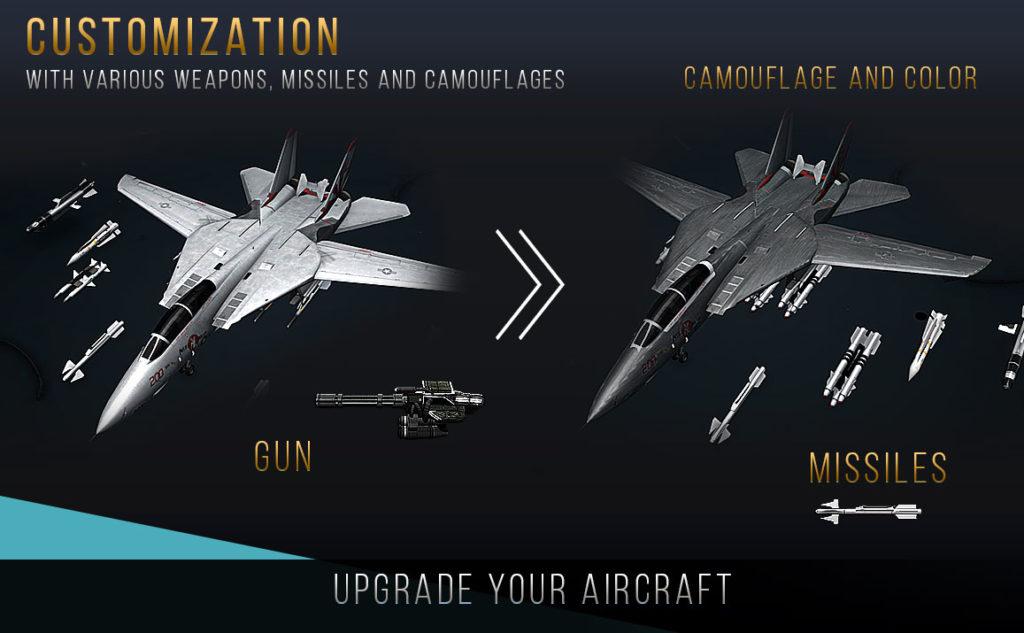 دانلود Modern Warplanes 1.8.30 b301540 - بازی هواپیماها جنگی پیشرفته اندروید + مود