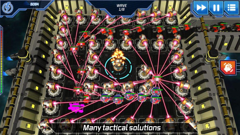 دانلود Module TD. Sci-Fi Tower Defense 1.72 - بازی برج دفاعی متفاوت و مدرن اندروید + مود