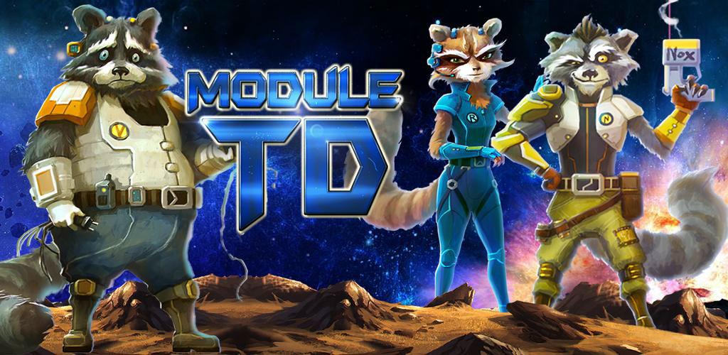 Module TD. Sci-Fi Tower Defense