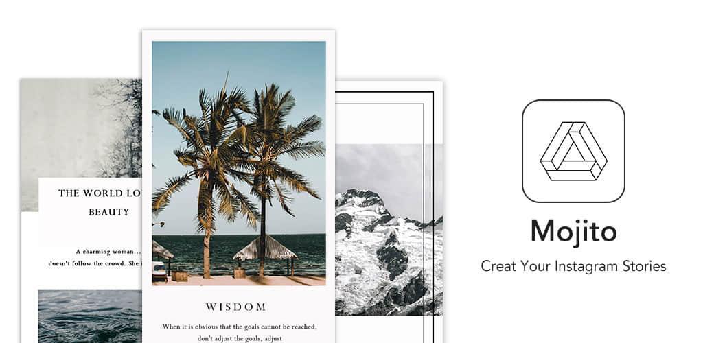 Mojito - Story Art Maker,Instagram story editor VIP