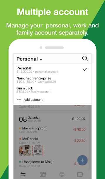 دانلود Money Manager: Track expense & budget bookkeeping 2.0.4 - برنامه مدیریت مالی ساده روزانه مخصوص اندروید !