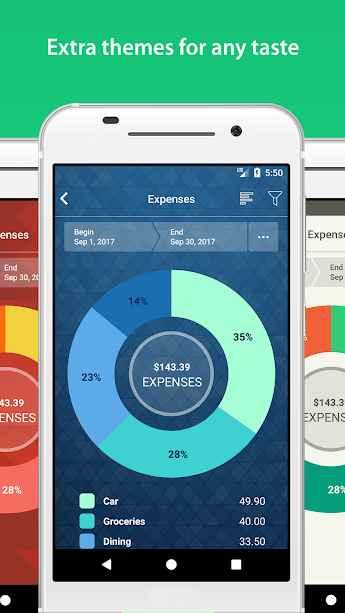 دانلود Money Pro - Personal Finance & Expense Tracker 1.9.8 - برنامه کاربردی حسابداری شخصی اندروید