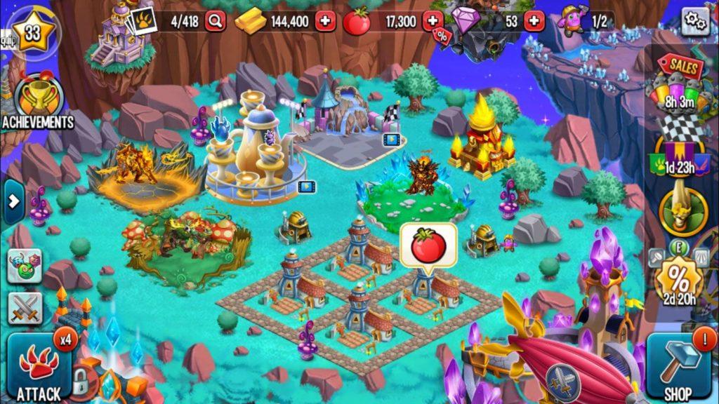 دانلود Monster Legends - RPG 7.7.6 - بازی نقش آفرینی جالب