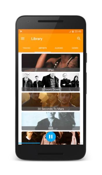 دانلود Mood Beats - Music Player 3.5.8 - پلیر هوشمند موزیک اندروید